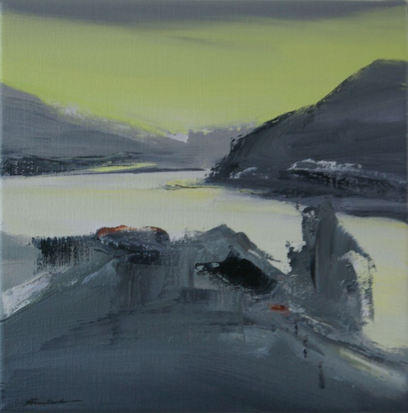 Norwegian Summer, 25x25cm