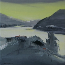 Norwegian Summer, 25x25cm
